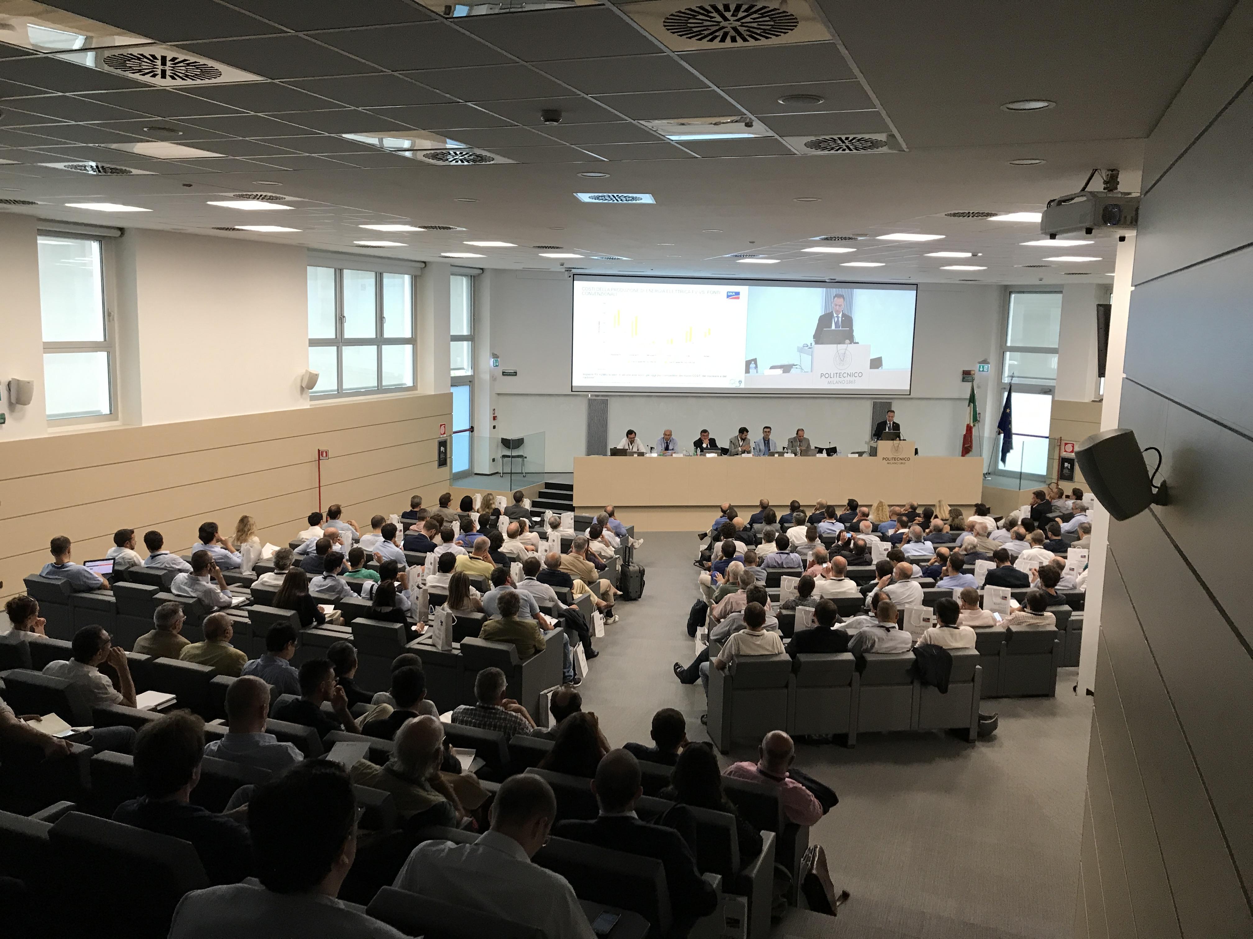 WElink Sponsors SMA Italia Solar Conference